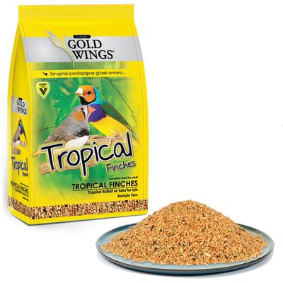 Gold Wings Classic - GWC Tropical Finch Yemi 400 gr 6'lı