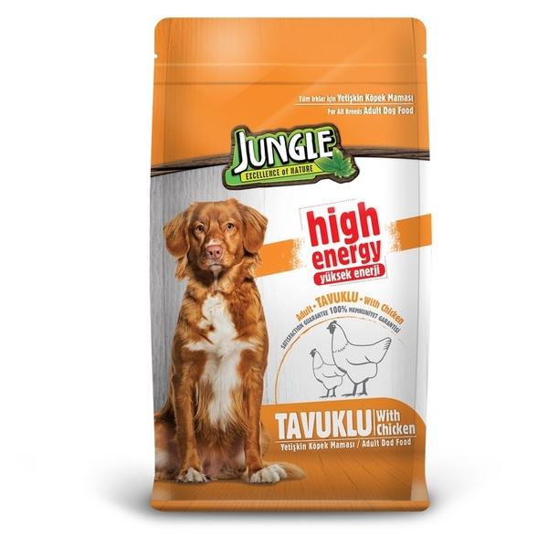 Jungle 15 kg High Energy Tavuklu Yetiş.Köpek M.