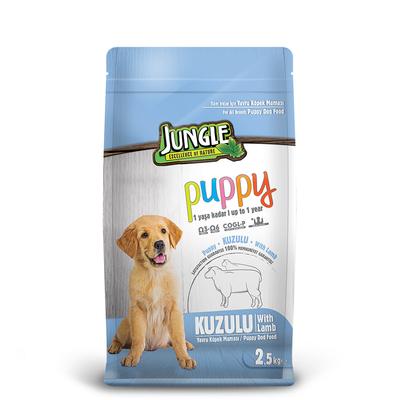 Jungle - Jungle 2,5 kg Yavru Kuzu Etli Köpek Maması