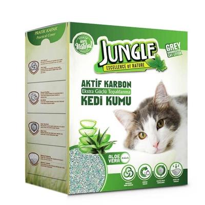 Jungle - Jungle 6 Lt Karbonlu Grey (Aloe Vera) 3'lü Kum.