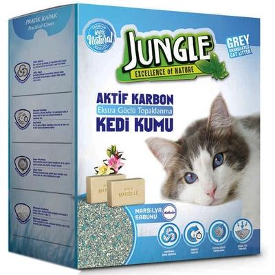 Jungle - Jungle 6 Lt Karbonlu Grey (Marsilya Sab) 3'lü Kum