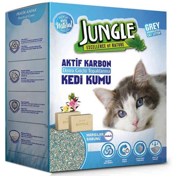 Jungle 6 Lt Karbonlu Grey (Marsilya Sab) 3'lü Kum