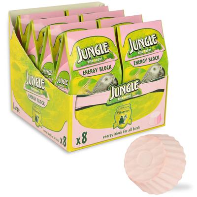 Jungle - Jungle Enerji Blok Büyük 8'li Paket.