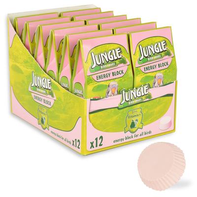Jungle - Jungle Enerji Blok Küçük 12'li Paket