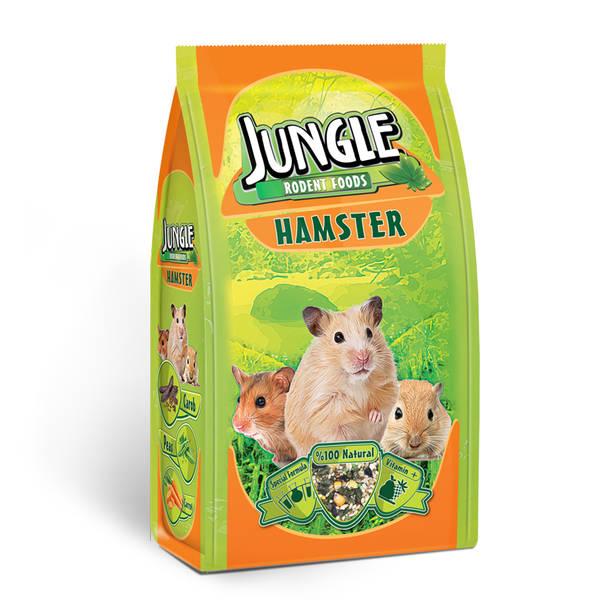 Jungle Hamster Yemi 500 gr 6'lı