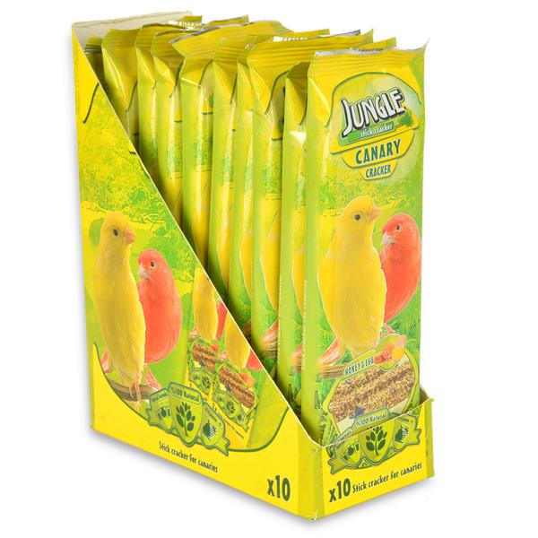 Jungle Kanarya Kraker 3'lü 10'lu Paket