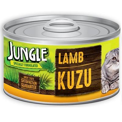 Jungle - Jungle Kedi 85 gr Kuzu Etli Yaş Ezme 24 Adet