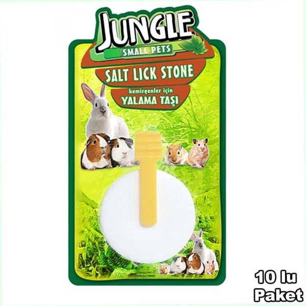 Jungle Kemirgen Yalama Taşı 10'lu