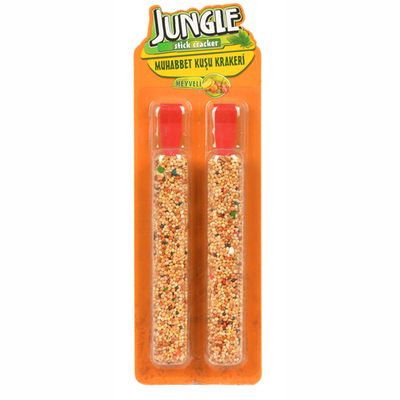 Jungle - Jungle Meyveli Muhabbet Krakeri 2'li 10 Adet