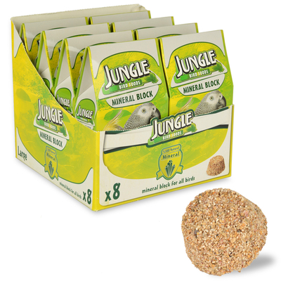 Jungle - Jungle Mineral Blok Büyük 8'li Paket.