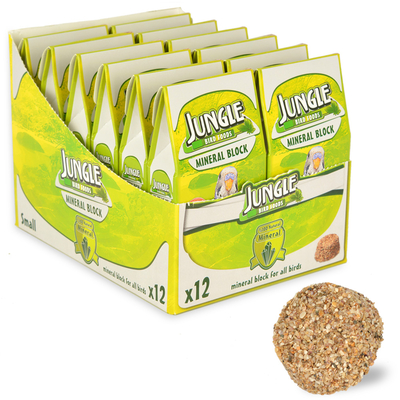 Jungle - Jungle Mineral Blok Küçük 12'li Paket