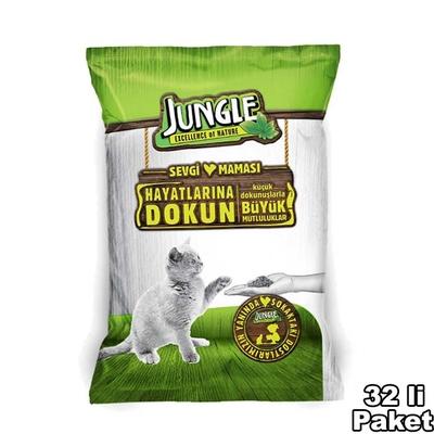 Jungle - Jungle Sevgi Maması Kedi 100 gr-32 Adet