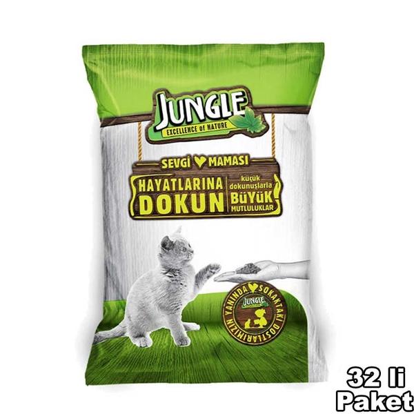 Jungle Sevgi Maması Kedi 100 gr-32 Adet