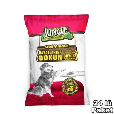 Jungle - Jungle Sevgi Maması Köpek 125 gr-24 Adet