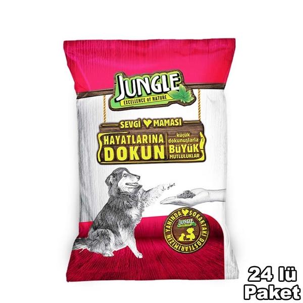 Jungle Sevgi Maması Köpek 125 gr-24 Adet
