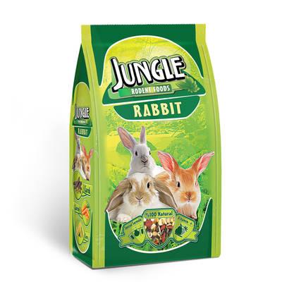 Jungle - Jungle Tavşan Yemi 500 gr 6'lı.