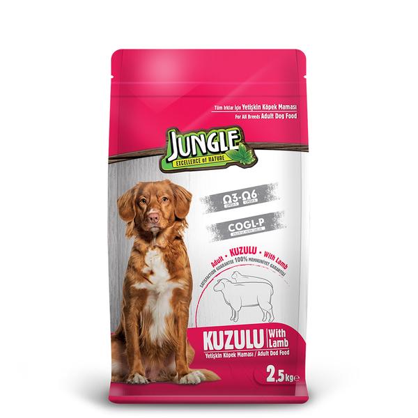 Jungle 2,5 kg Kuzu Etli Yetişkin Köpek Maması