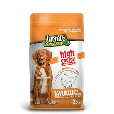 Jungle - Jungle 2,5 kg High Energy Tavuklu Yetiş.Köpek M.