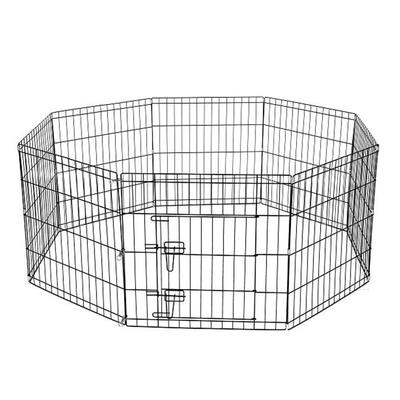 Flip - Katlanır Lux Köpek Çiti 80*80 cm-8 Panel
