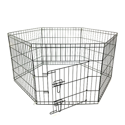 Flip - Katlanır Tel Köpek Çiti 107*61 cm-6 Panel