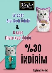 Kit Cat - Kit Cat Fileto ve Ödül Seti 20 Adet.