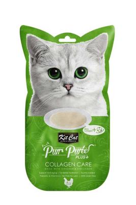 Kit Cat Purr Plus Collagen Care Kedi Ödülü 4'lü