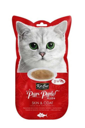 Kit Cat - Kit Cat Purr Plus KC-3260 Skin&Coat Kedi Ödül 4'lü