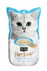 Kit Cat - Kit Cat Purr KC-898 Tavuk-Somon Kedi Ödülü 4'lü