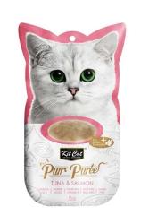 Kit Cat - Kit Cat Purr KC-836 Ton Bal.-Somon Kedi Ödülü 4'lü