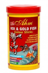 Ahm - Koi Goldfish Colour Pond Sticks 1000 ml