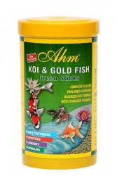 Ahm - Koi Goldfish Green Pond Sticks 1000 ml