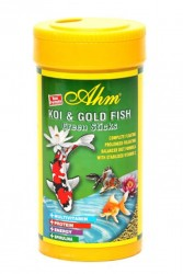 Ahm - Koi Goldfish Green Pond Sticks 250 ml