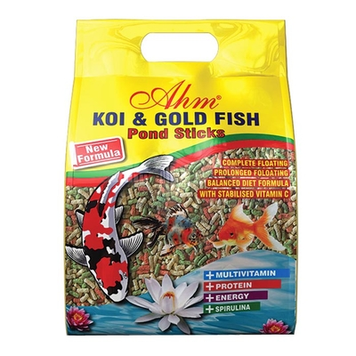 Ahm - Koi Goldfish Mix Pond Sticks 1 Kg