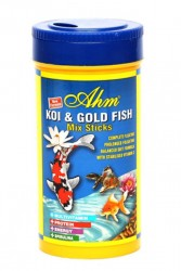 Ahm - Koi Goldfish Mix Pond Sticks 250 ml