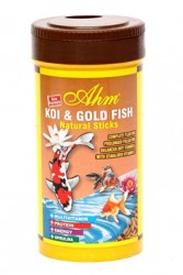 Ahm - Koi Goldfish Natural Pond Sticks 250 ml
