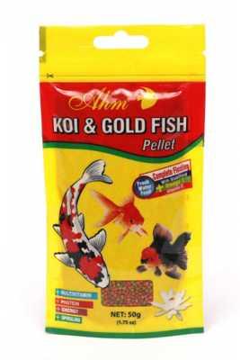 Koi Goldfish Pellet 50 gr