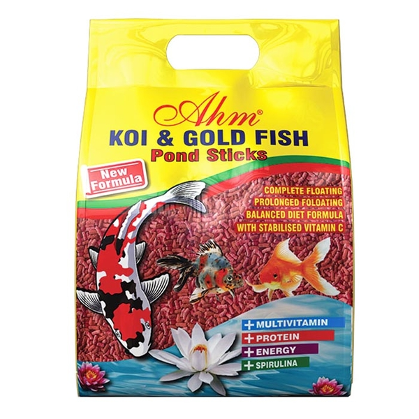 Koi Goldfish Colour Pond Sticks 1 Kg