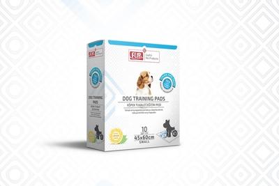 Flip - Köpek Tuvalet Eğitim Pedi 45*60 10'lu Kutu