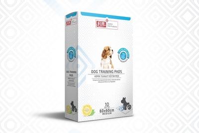 Flip - Köpek Tuvalet Eğitim Pedi 60*60 10'lu Kutu