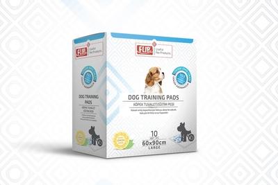 Flip - Köpek Tuvalet Eğitim Pedi 60*90 10'lu Kutu