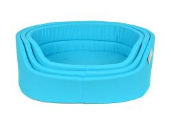 Pet Preety - Kumaş Yatak 3'lü Set Mavi