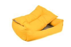 Pet Preety - Kumaş Yatak No:1 Sarı