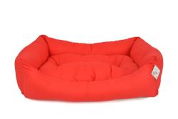 Pet Preety - Kumaş Yatak No:2 Kırmızı