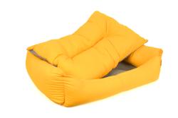 Pet Preety - Kumaş Yatak No:2 Sarı