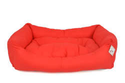 Pet Preety - Kumaş Yatak No:3 Kırmızı