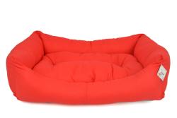Pet Preety - Kumaş Yatak No:4 Kırmızı