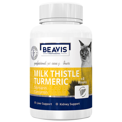 Beavis - Milk Thistle Turmeric Cat 50 gr 100 Tablet