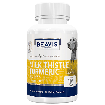 Beavis - Milk Thistle Turmeric M Large Breed 135 gr 90 Tab