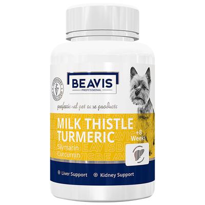Milk Thistle Turmeric Small Breed 50 gr 100 Tablet - Thumbnail