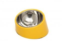 Super Design - ML990382 M Sarı Yatay Mama Kabı